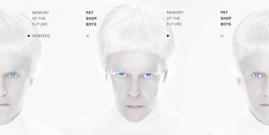 Pet Shop Boys Memory Of The Future single cover 1