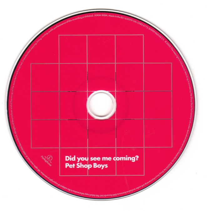 Did You See Me Coming? UK CD2 Disc