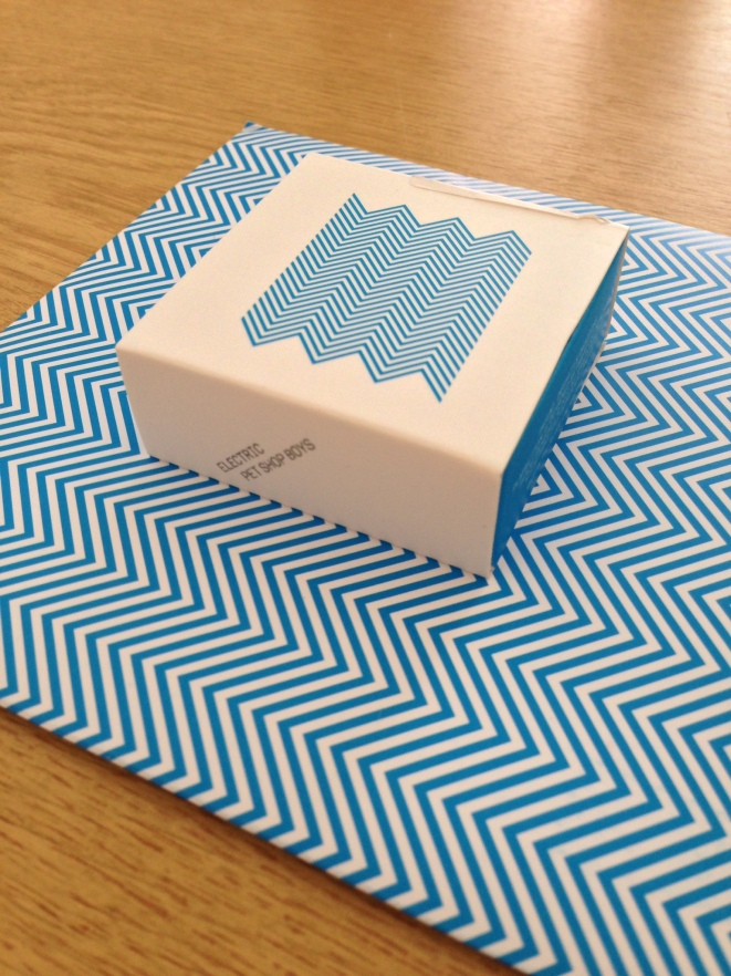 Electric PlayButton, Box with Postcards