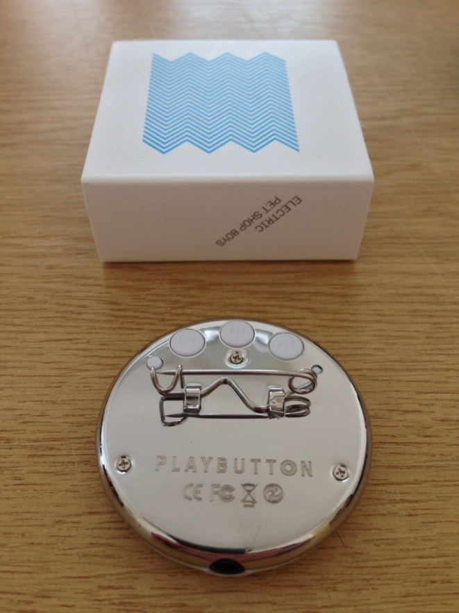 Playbutton, reverse side