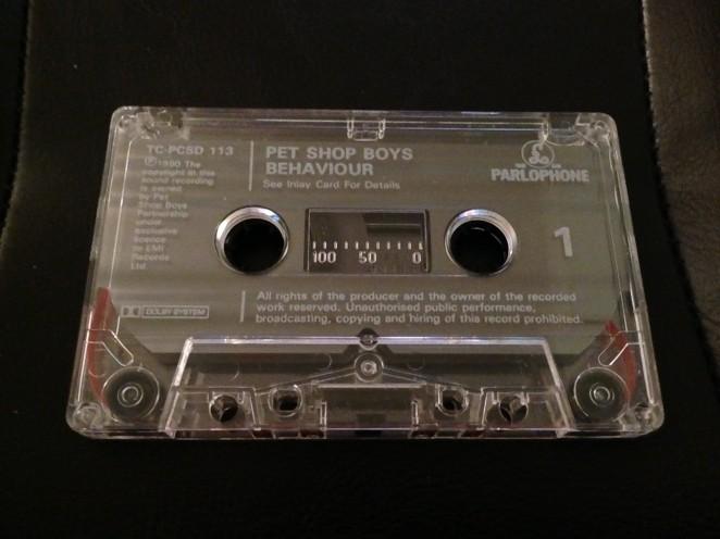 Behaviour Promo Cassette Shell