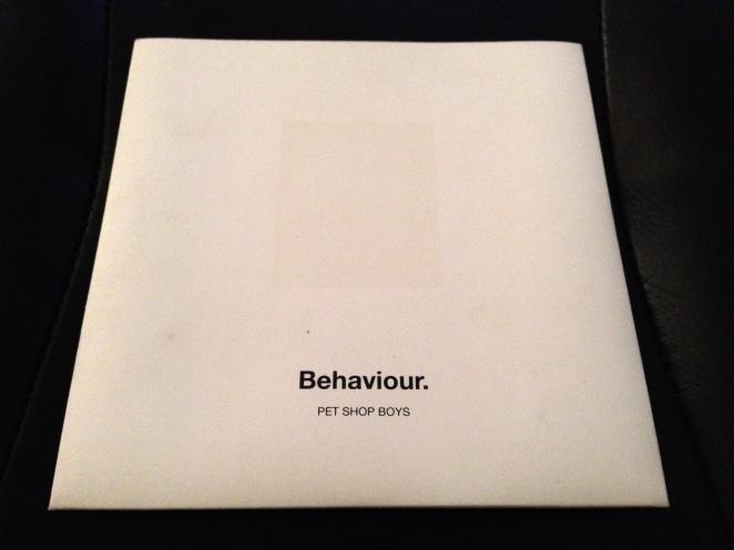 Behaviour Promo CD Sleeve Front
