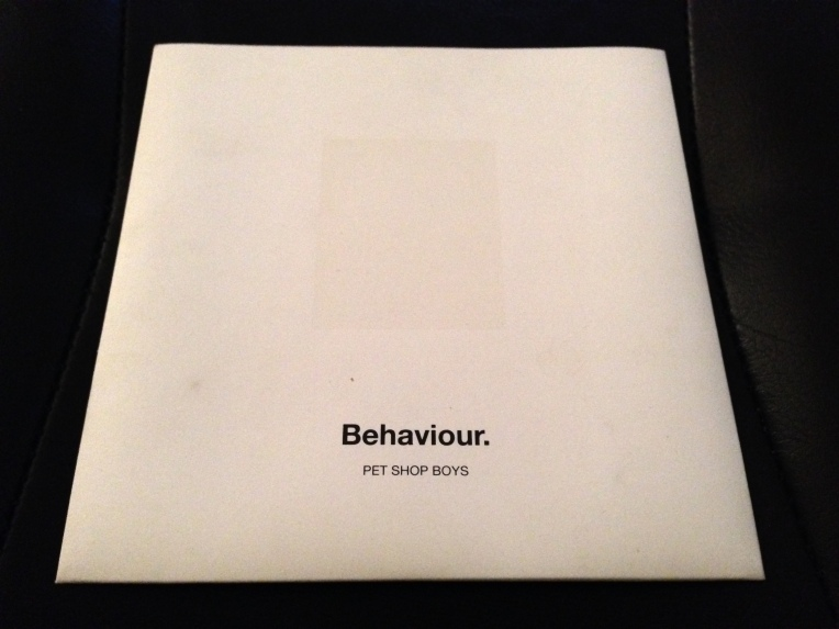 Behaviour Promo CD Sleeve Front