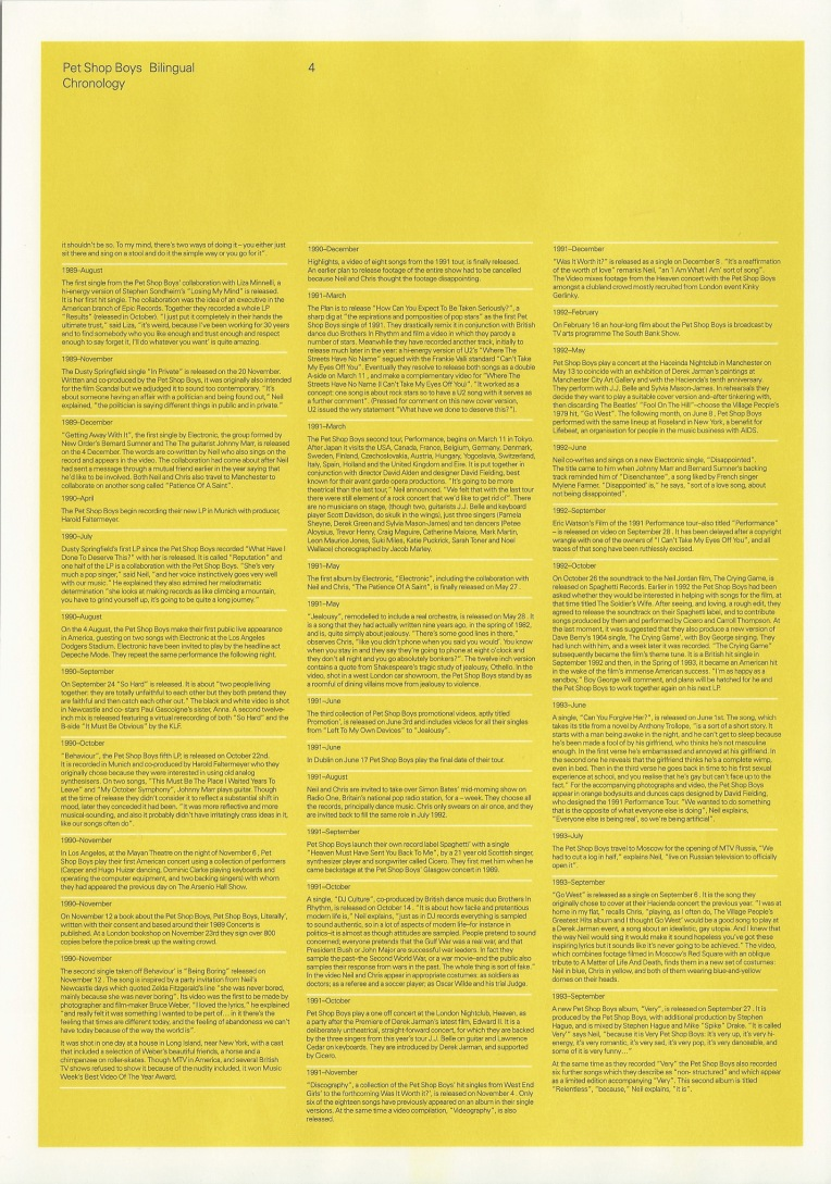Bilingual Sampler Press Pack Info Sheet 4