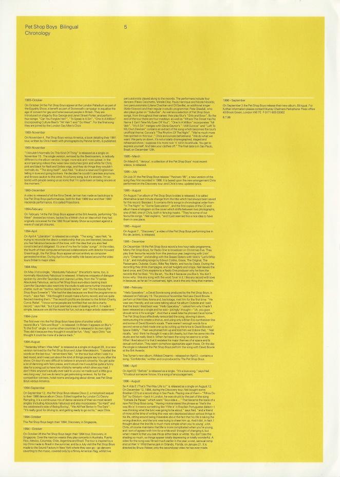 Bilingual Sampler Press Pack Info Sheet 5