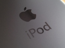 Laser Etched Logo and iPod Legend