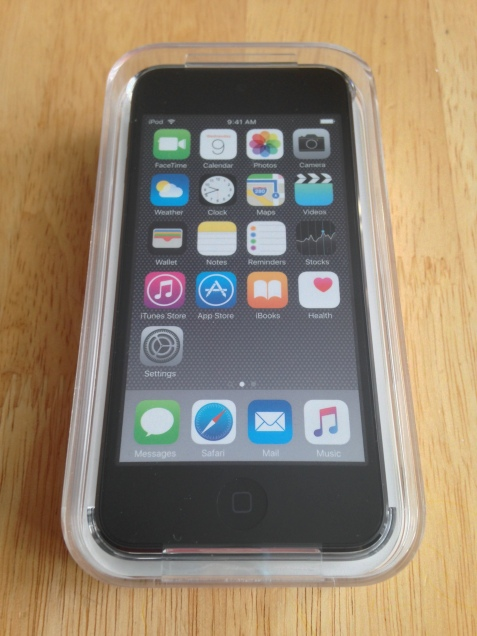 iPod Touch Box Front