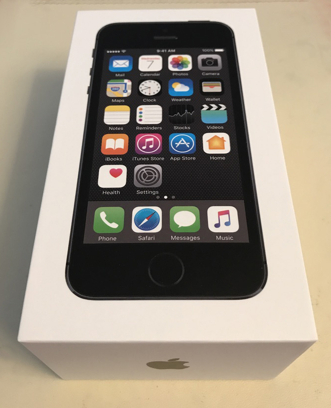 Apple iPhone 5S Space Grey, 16GB Unboxing – TechBeach