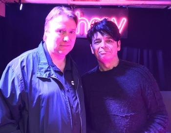 Me and Gary Numan