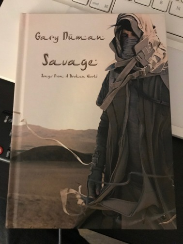 Book Edition of 'Savage', Numan's new LP released 15-9-17.