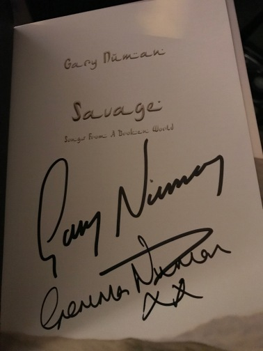 Signatures obtained personally from Gary and wife Gemma.